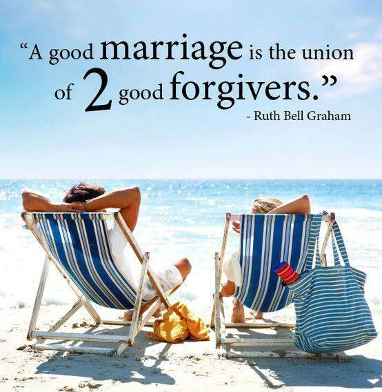 A good marriage is the union of two good forgivers Picture Quote #1
