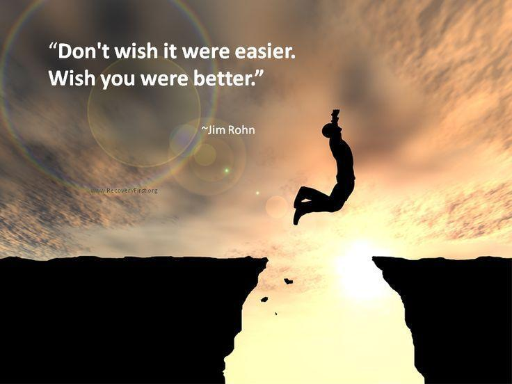 Don't wish it were easier, wish you were better Picture Quote #1