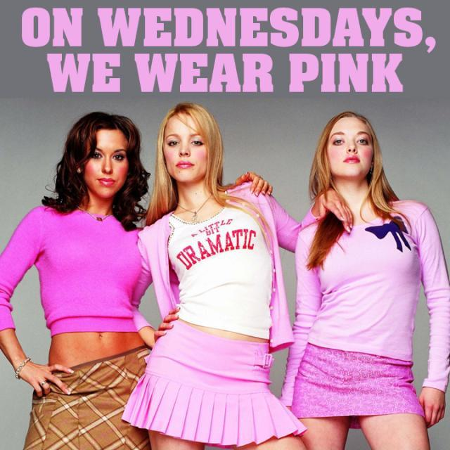 On Wednesdays we wear pink Picture Quote #1