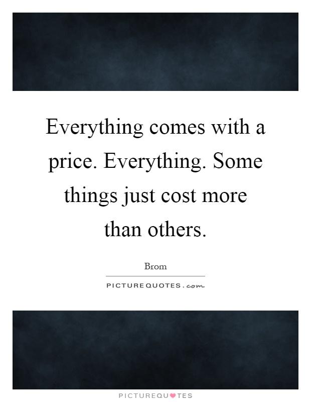 when comes cost