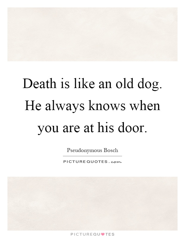 Old Dog Quotes | Old Dog Sayings | Old Dog Picture Quotes