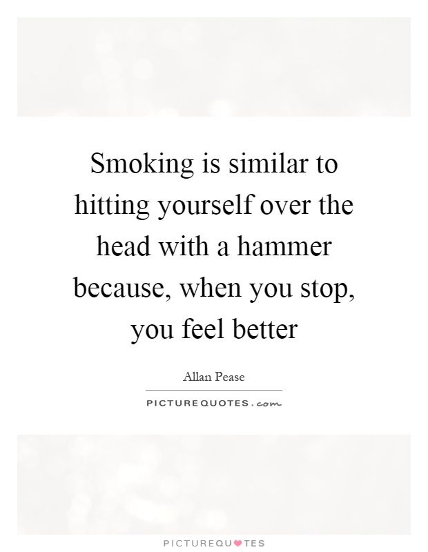 how to tell yourself to stop smoking