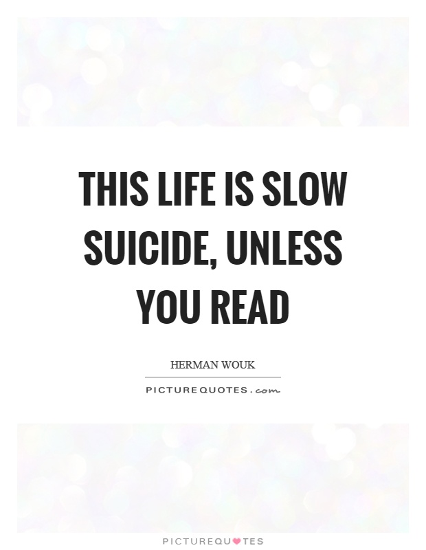 suicide and life