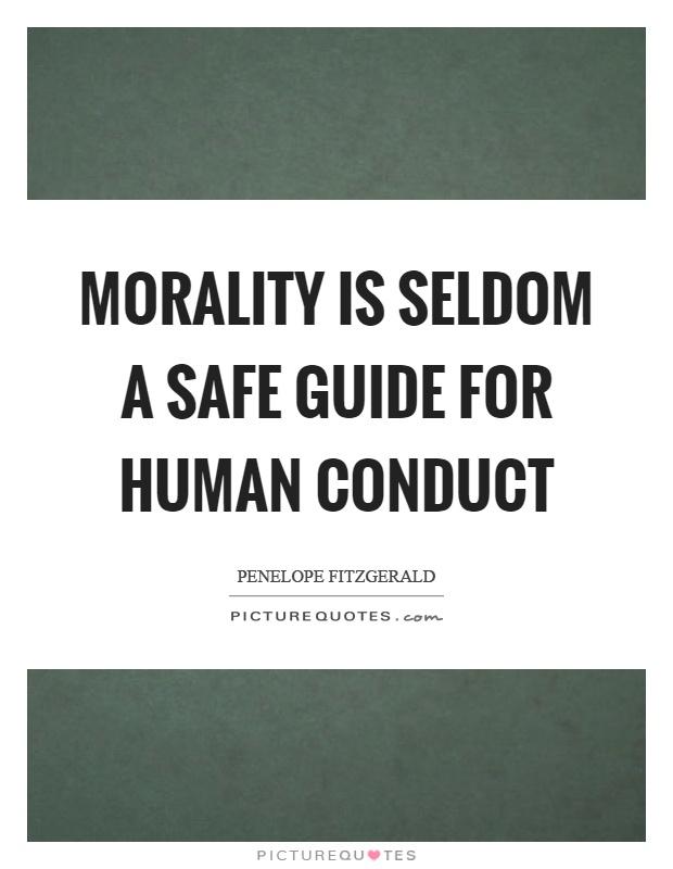 On Human Conduct