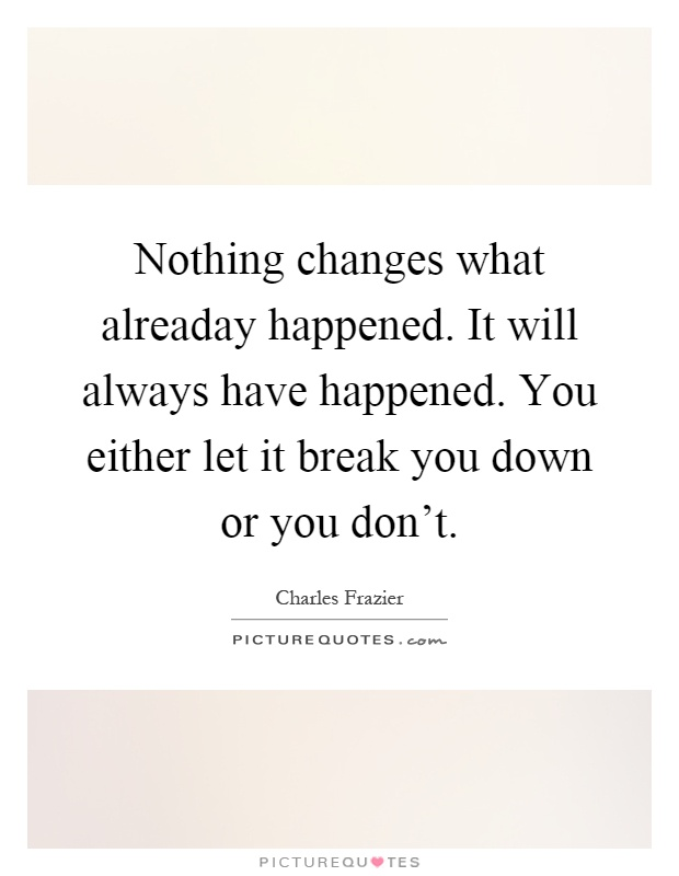 Friendship Quote Nothing Changes