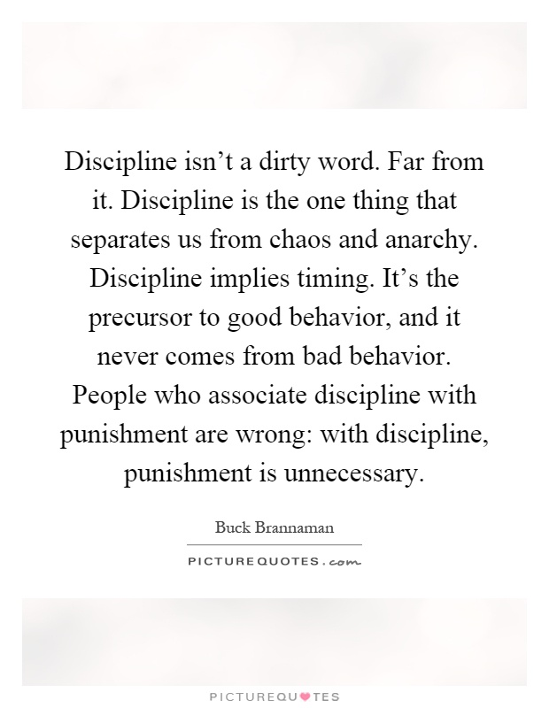 essay on discipline 300 words Free essay: military discipline 1 general the word discipline comes from the latin word disciplīna which means to instruct discipline is a.