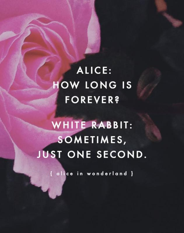 How long is forever? Sometimes just one second Picture Quote #1