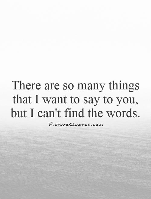 words to say i miss you