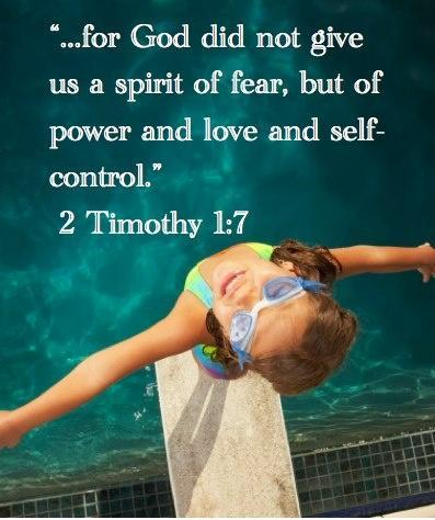 For God did not give us a spirit of fear, but of power and love and self control Picture Quote #1