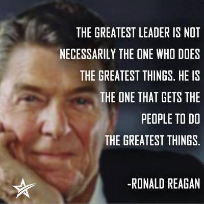 The greatest leader is not necessarily the one who does the greatest things. He is the one that gets the people to do the greatest things Picture Quote #1