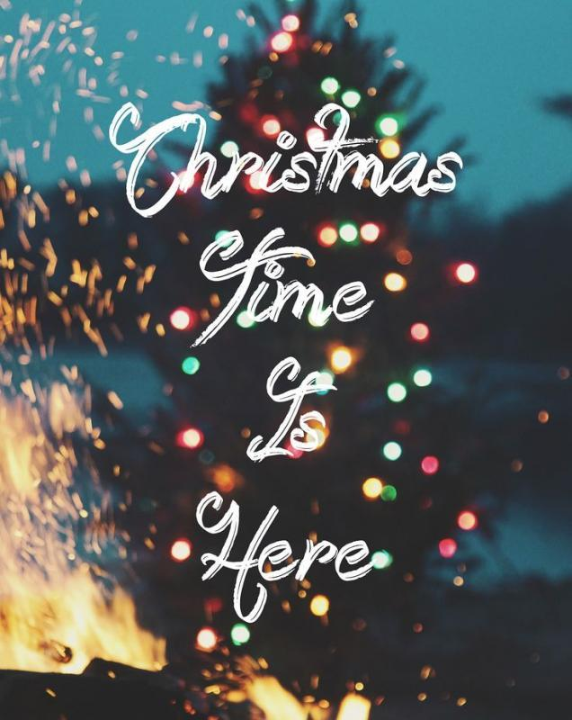 Christmas time is here Picture Quote #1