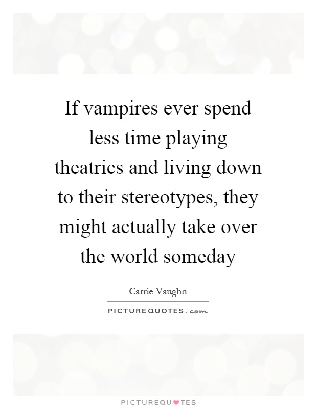 the movie stereotypes about vampires Horror vampires and other stereotypes poster two men  enjoy a night in  with these popular movies available to stream now with prime video start your.
