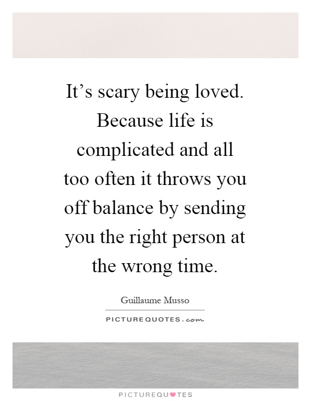 quotes about life being complicated