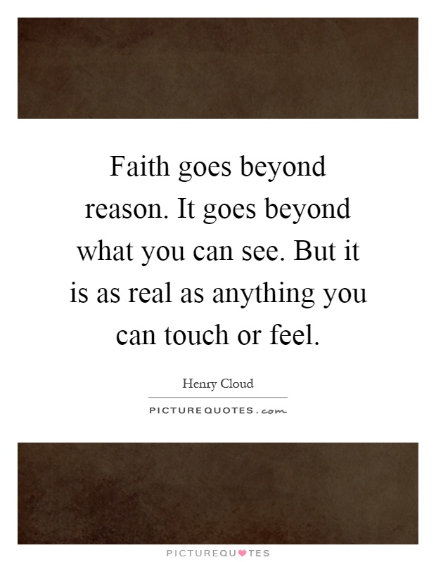 faith vs reason What is meant by the question, are faith and reason compatible to provide an adequate answer to this question, however  21 faith as act vs faith as belief.