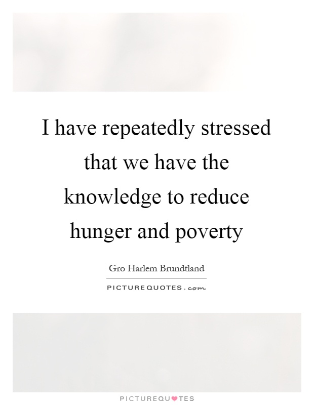 Help Reduce Hunger