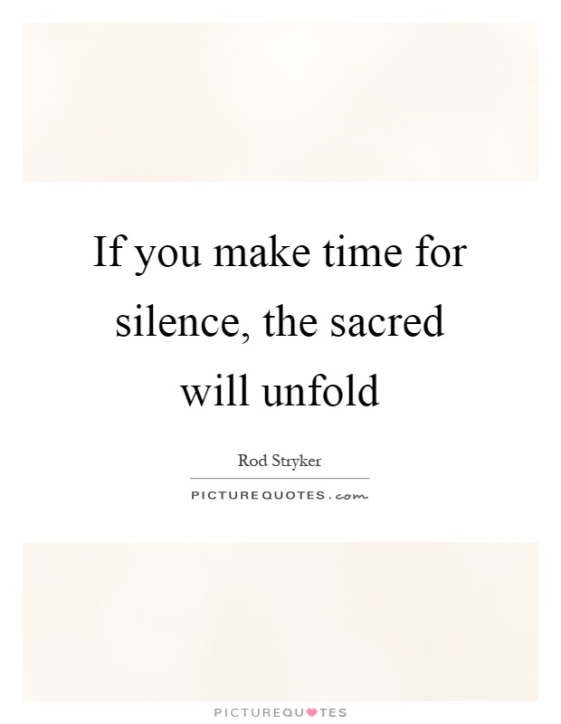 If You Are Silent in Times of Injustice