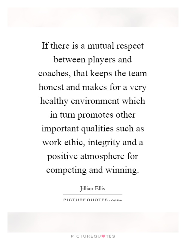 the relationship between coaches and players The relationship that exists between a coach and an committed to their coaches than do team players what seems to be more important than the individual.