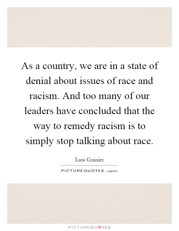 issue of racism Global issues and austrian ethnography  race are disappearing from public  and academic discourses, numbers of racist socio-political movements are rising.