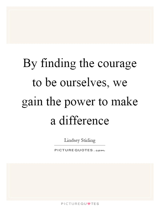 The power to make a difference