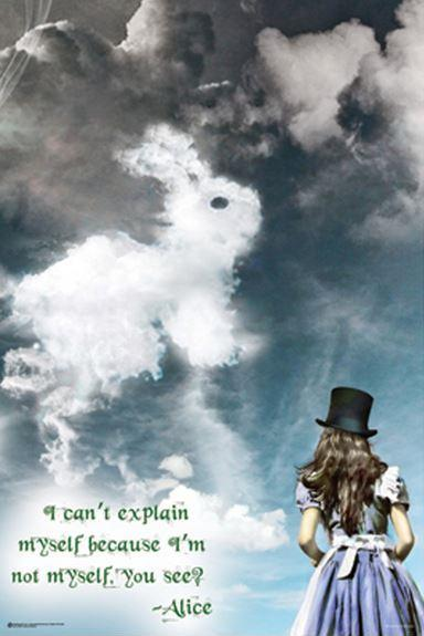 I can't explain myself, because I'm not myself, you see? Picture Quote #1