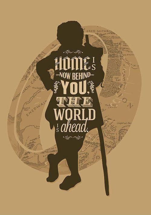 Home is now behind you, the world ahead Picture Quote #1