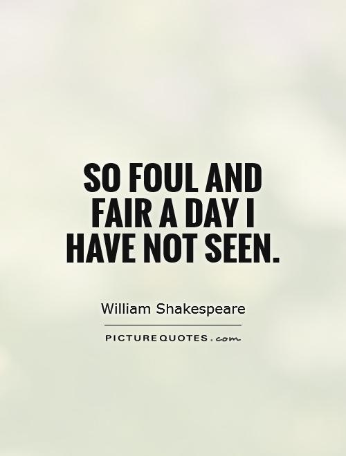 fair is foul and foul is fair essay macbeth fair is foul and foul is fair essay