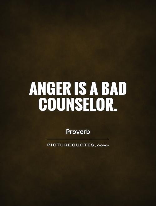anger is bad