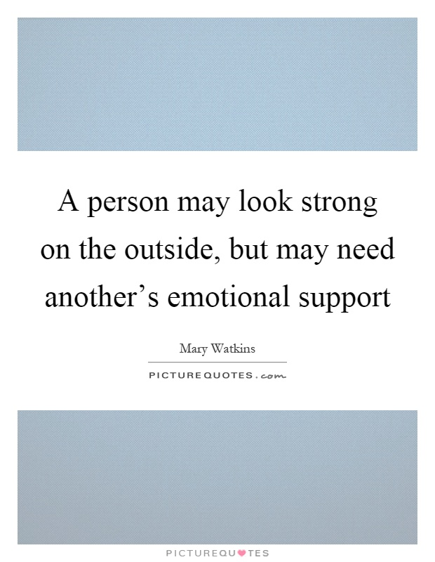 how important is emotional support in a relationship