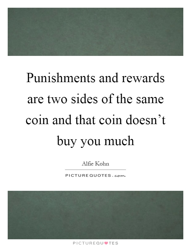 """two sides of the coin essay Famous indian yogi paramahansa yogananda once said """"there are always two  forces warring against each other within us"""" the forces that."""