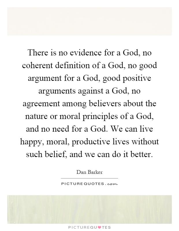 defining gods existence essay