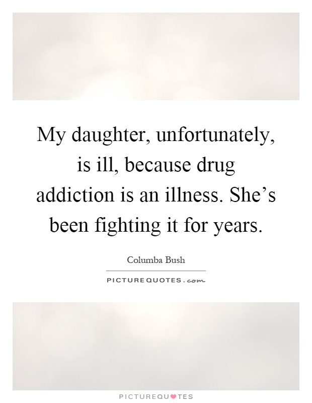 Daughter dating drug addict