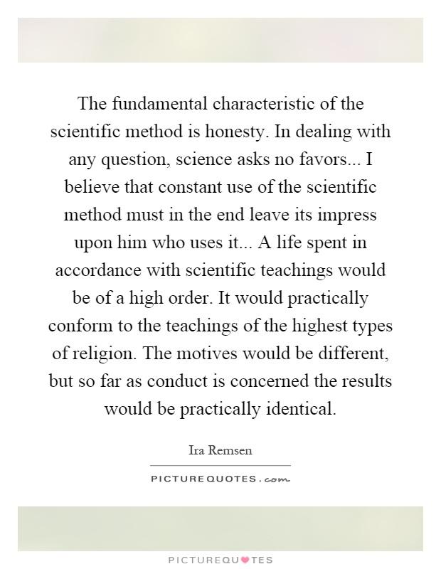 Scientific method essay question