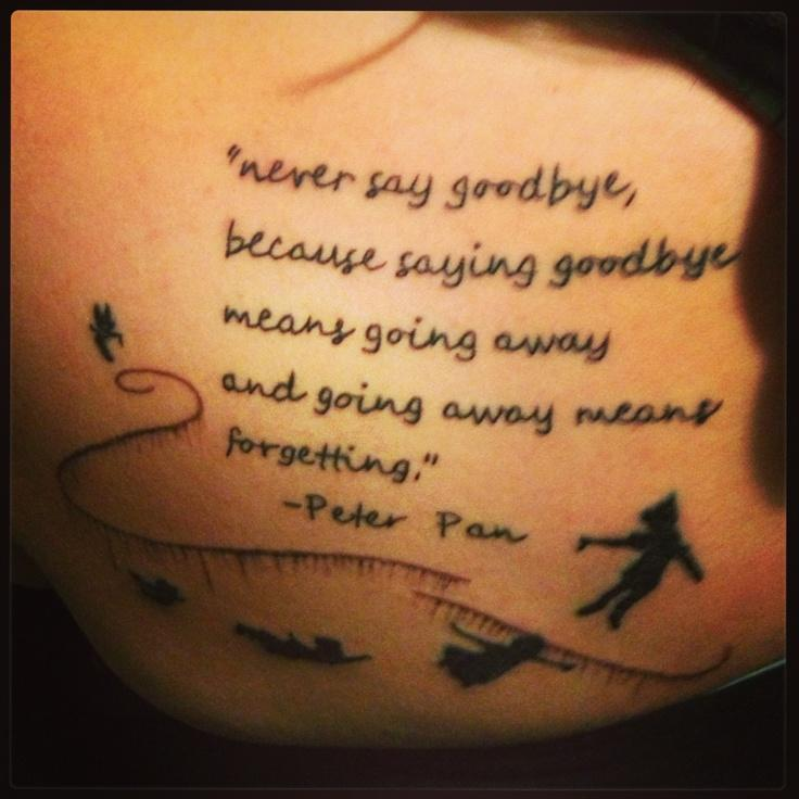 Never say goodbye because goodbye means going away and going away means forgetting Picture Quote #2