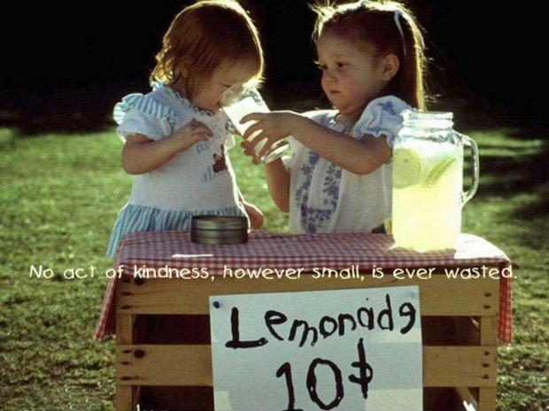 No act of kindness, no matter how small, is ever wasted Picture Quote #1
