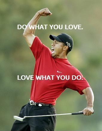Do what you love. Love what you do Picture Quote #1