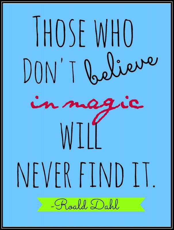 Those who don't believe in magic will never find it Picture Quote #1