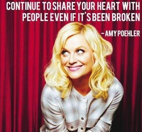 Continue to share your heart with people, even if it's been broken Picture Quote #1