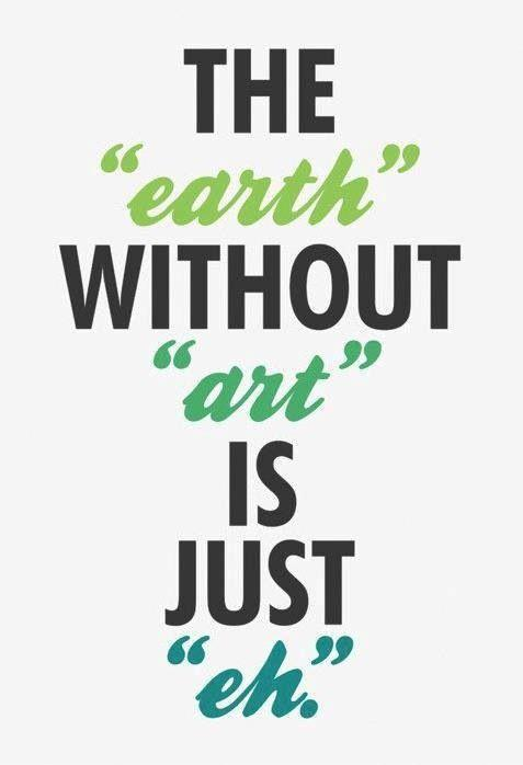 The Earth without art is just eh Picture Quote #1