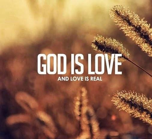 God is love Picture Quote #1