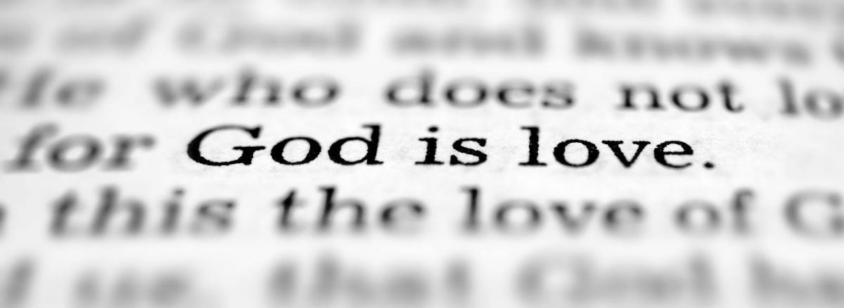 God is love Picture Quote #2