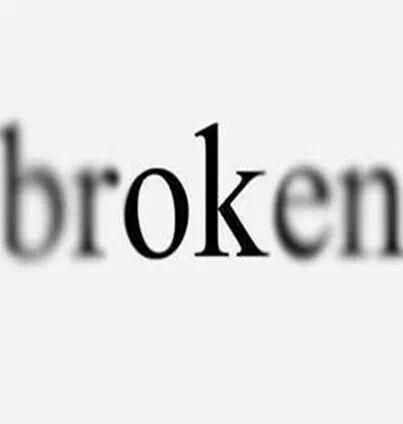 Broken Picture Quote #1