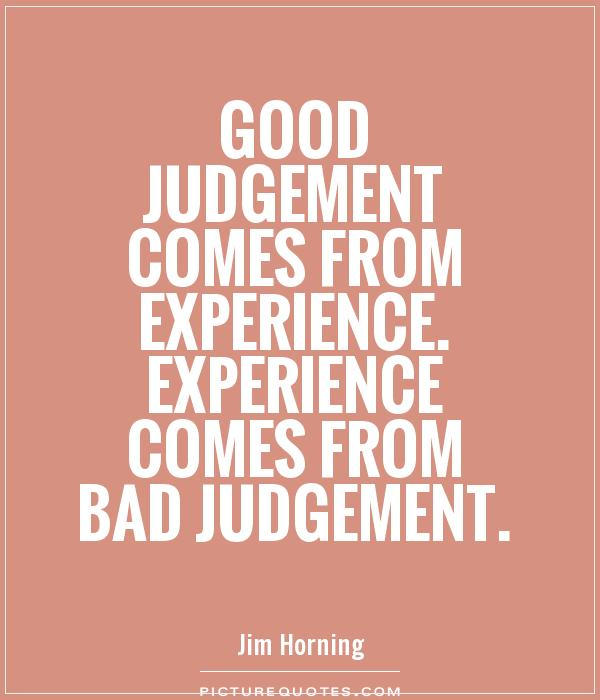 Judgment Quotes. QuotesGram