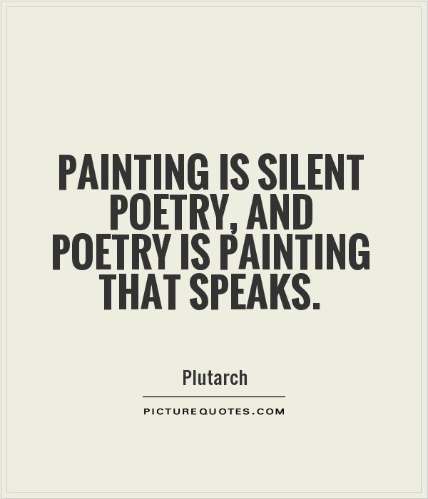 Quotes About Painting: Poetry Picture Quotes