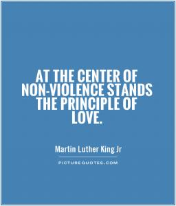 Martin luther king jr nonviolence facts