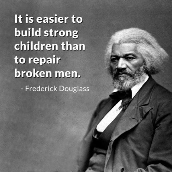 It is easier to build strong children than to repair broken men Picture Quote #2