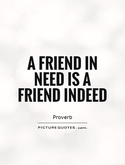A Friend in Need Is a Friend Indeed: A Case Study on Human ...