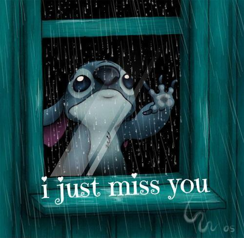 I just miss you Picture Quote #1