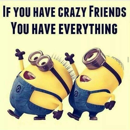 If you have crazy friends you have everything Picture Quote #1