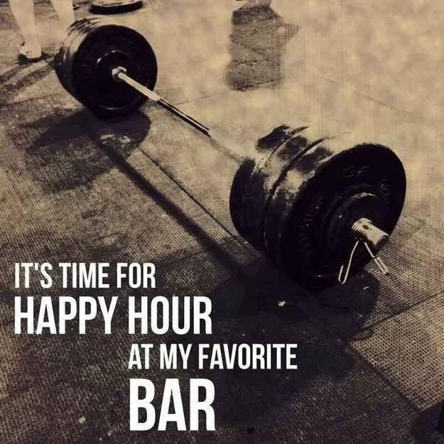It's time for happy hour at my favorite bar Picture Quote #1