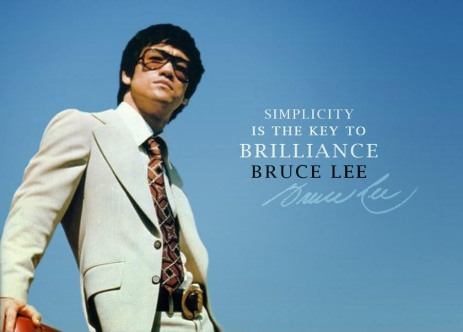 Simplicity is the key to brilliance Picture Quote #1